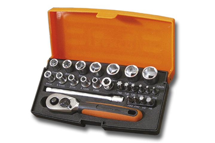 Bahco 25 Piece Socket Set