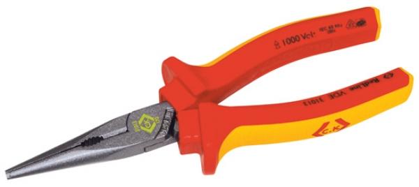C.K Tools Redline VDE Snipe Nose Pliers