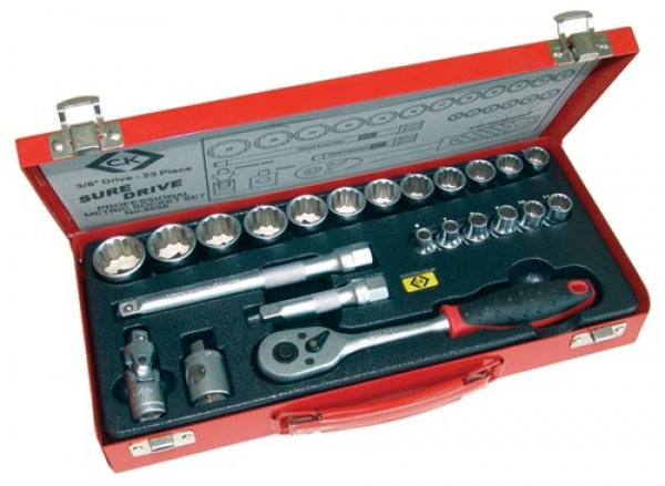 C.K Tools 23 Piece Socket Set