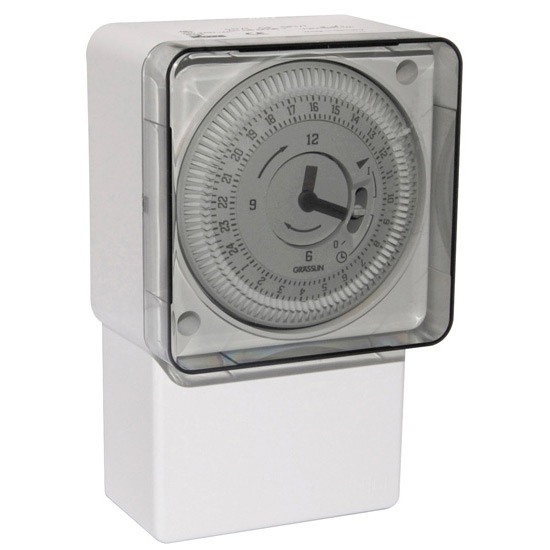 Grässlin Immersion Heater Timer 24hr