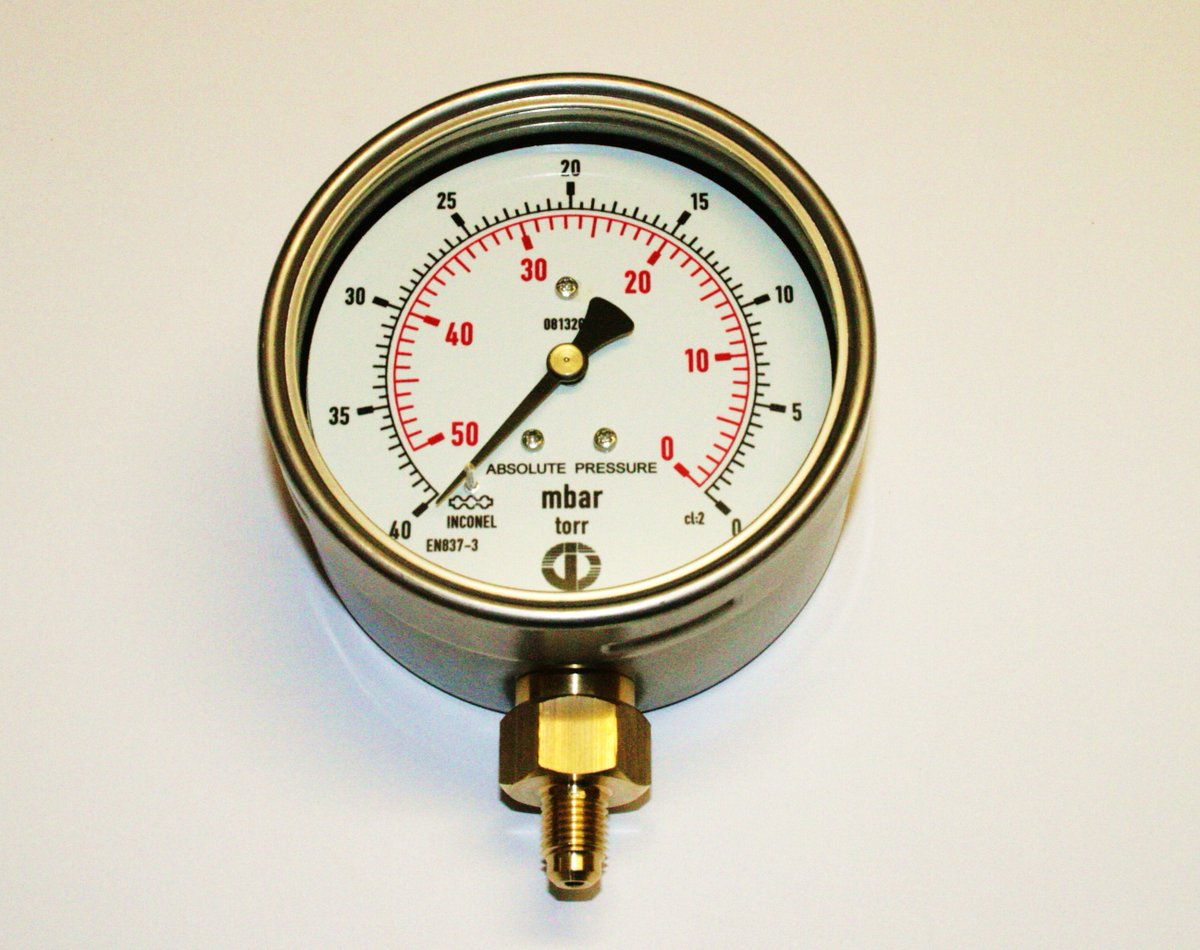Javac Absolute Torr Gauge