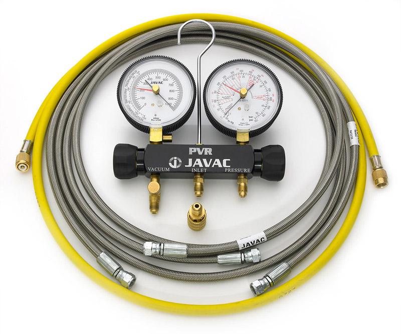 Javac Pressure Vacuum Test Manifold