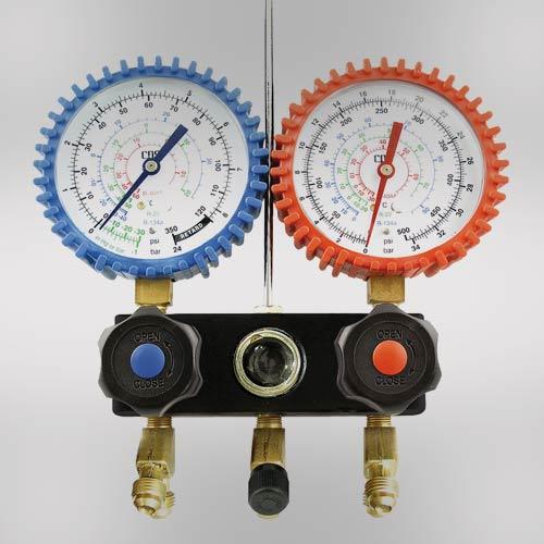 CPS® Pro-Set® Manifold &  Hoses R134a R404a  R407C  R22