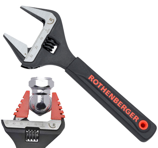 Rothenberger 38mm Wide Jaw Wrench