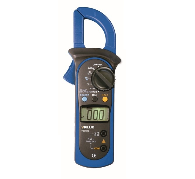 Value® Digital Clamp Meter