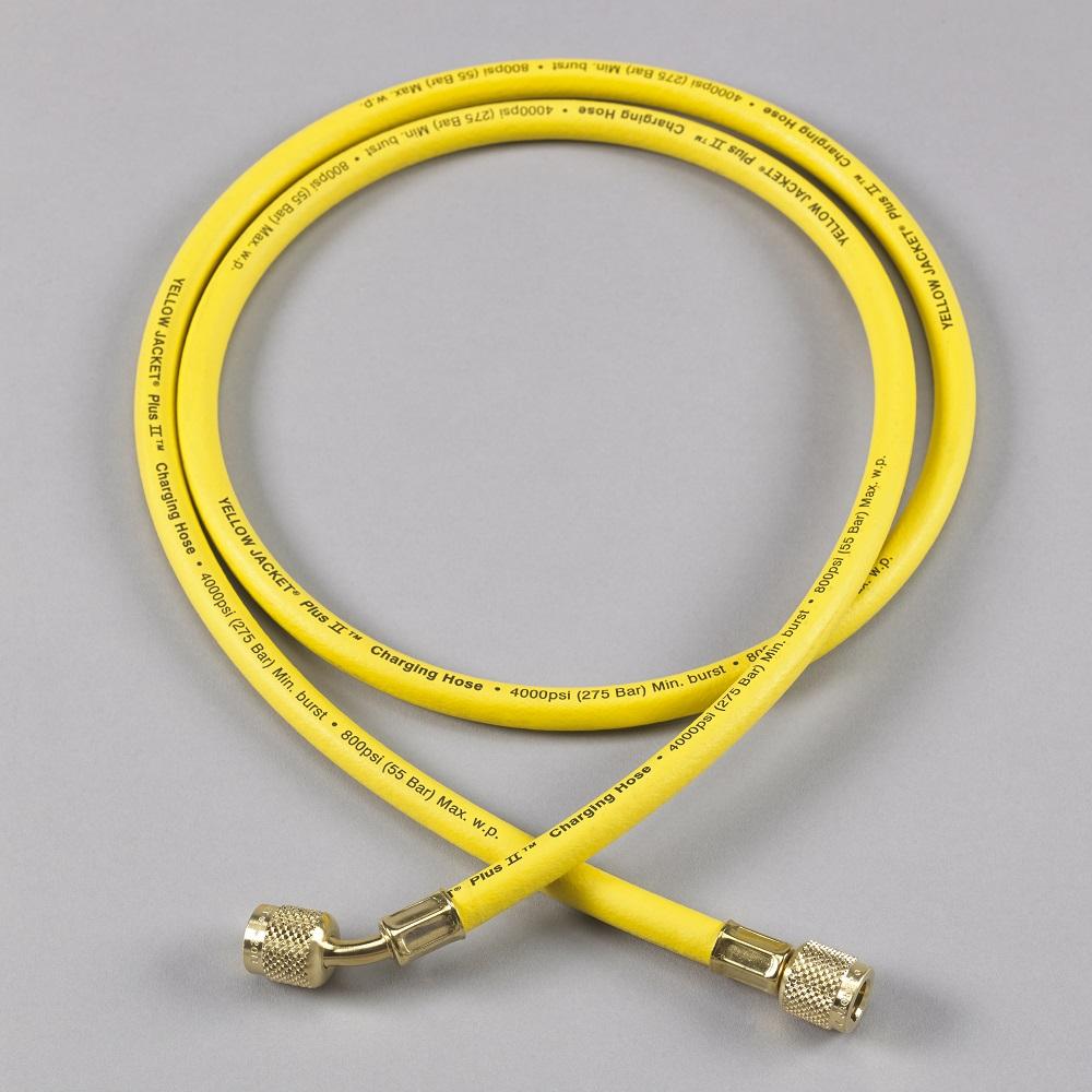 """Yellow Jacket® Plus II™ 3/8"""" Charging Hose 72"""""""