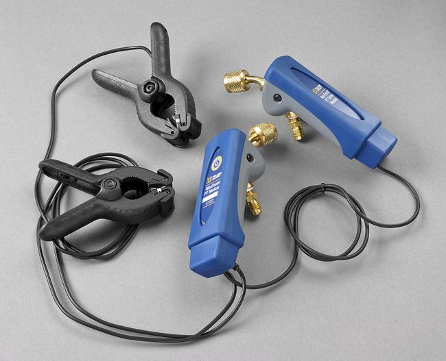 Yellow Jacket® ManTooth™ Dual Pressure Wireless Digital P/T Gauge