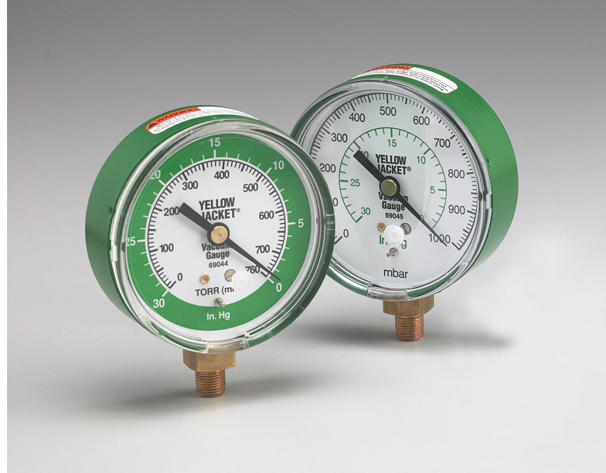 "Yellow Jacket® 3 1/8"" Mechanical Vacuum Gauge"