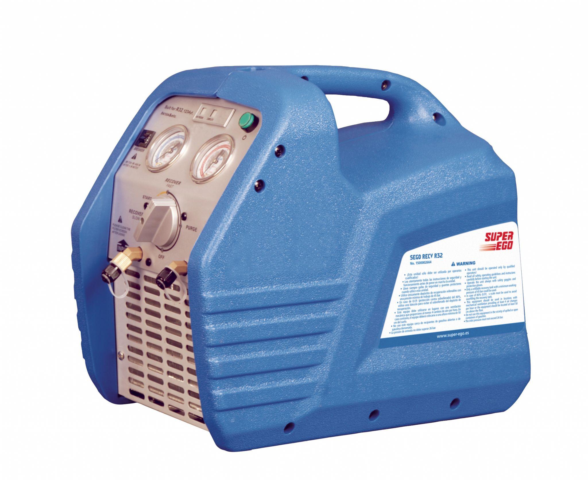 Super Ego Refrigerant Recovery Unit R32 230v