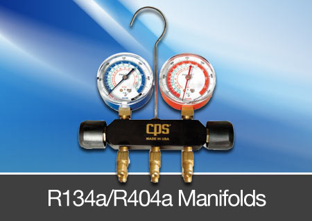 r143a refrigerant manifolds
