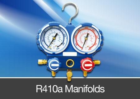 r410a refrigerant manifolds