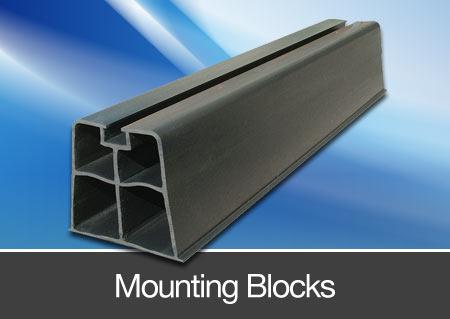 condensor unit mounting blocks