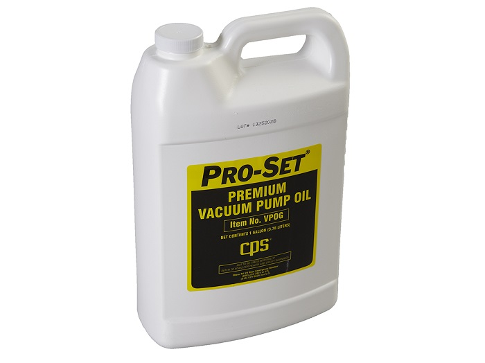 CPS Pro-Set® Premium Vacuum Pump Oil 1 gallon