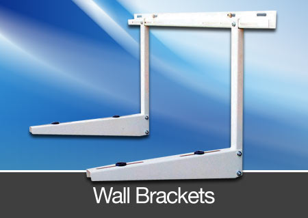 condensor unit wall brackets