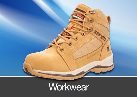 workwear and footwear